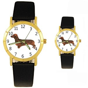 Dachshund Watch Red
