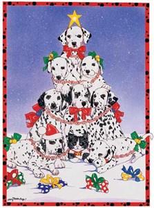 Dalmatian Christmas Cards