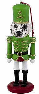 Dalmatian Ornament Nutcracker