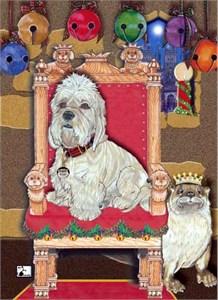 Dandie Dinmont Christmas Cards