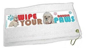 Dandie Dinmont Paw Wipe Towel