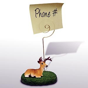 Deer Note Holder (Buck)