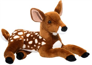 Bean Bag Deer Plush Stuffed Animal 8""