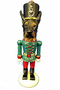 Doberman Pinscher Ornament Nutcracker