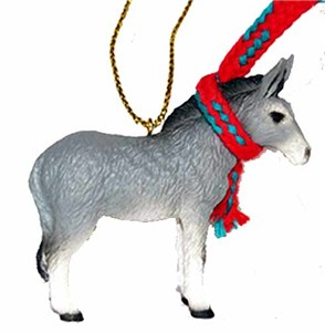 Donkey Tiny One Christmas Ornament