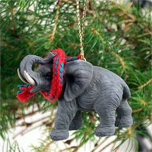 Elephant Tiny One Christmas Ornament