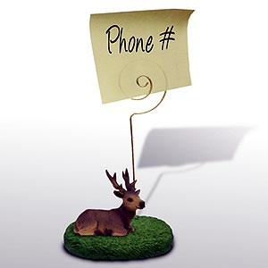 Elk Note Holder