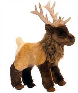 Loper the Elk Plush Stuffed Animal 11""