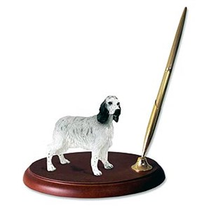 English Setter Pen Holder