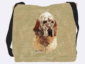 English Setter Tote Bag (Brown)