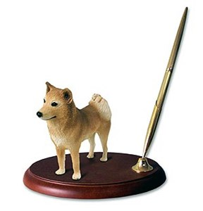 Finnish Spitz Pen Holder