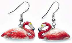 Flamingo Earrings True to Life