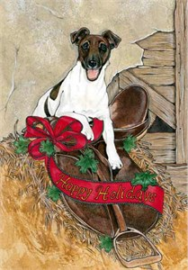 Fox Terrier Smooth Christmas Cards