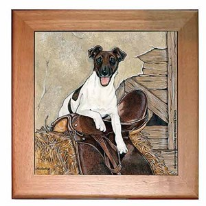 Smooth Fox Terrier Trivet