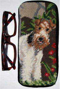 Wire Fox Terrier Eyeglass Case