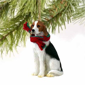 Foxhound Tiny One Christmas Ornament
