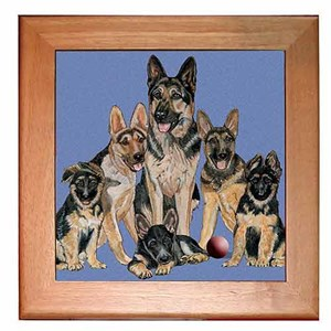 German Shepherd Trivet