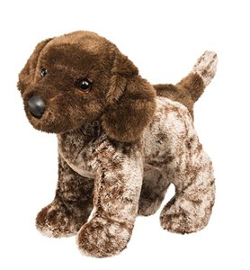 German Shorthaired Pointer Plush Stuffed Animal 12 Inch