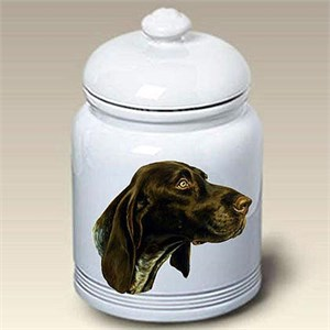 German Shorthaired Pointer Treat Jar