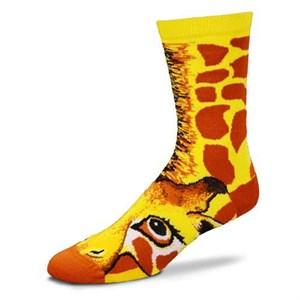 Giraffe Sock Puppet Socks
