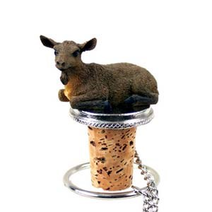 Goat Bottle Stopper (Brown)