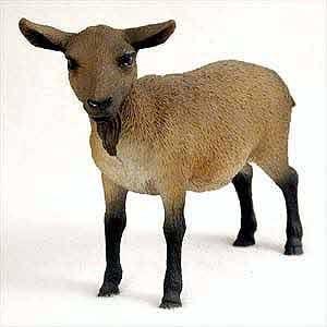 Goat Figurine Brown