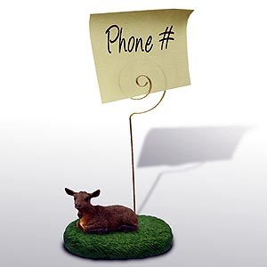 Goat Note Holder (Brown)