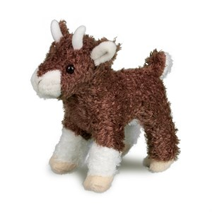 Goat Plush Stuffed Animal 6 Inch