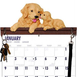 Golden Retriever Calendar Caddy