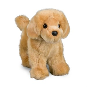 Golden Retriever Plush Stuffed Animal 10.5 Inch