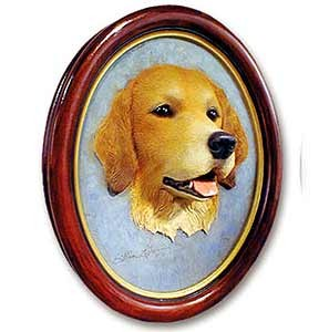 Golden Retriever Sculptured Portrait