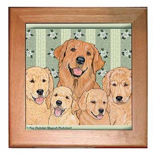Golden Retriever Trivet