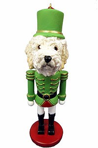 Goldendoodle Ornament Nutcracker