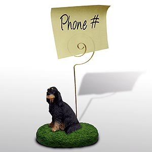 Gordon Setter� Note Holder