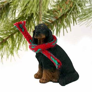 Gordon Setter Tiny One Christmas Ornament
