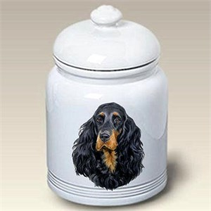 Gordon Setter Treat Jar