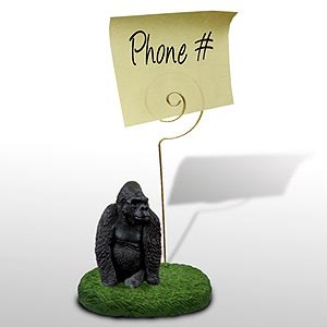 Gorilla Note Holder