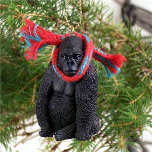 Gorilla Tiny One Christmas Ornament
