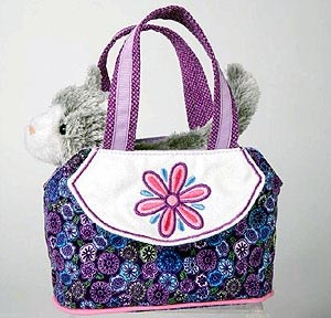 Gray Cat Purse