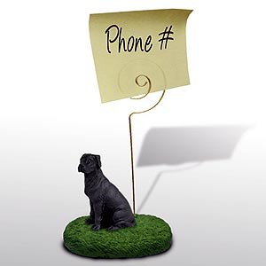 Great Dane Note Holder (Black Uncropped)