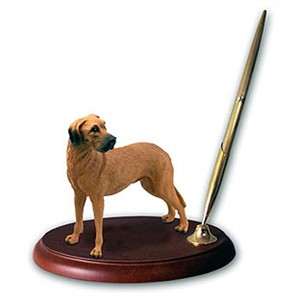 Great Dane Pen Holder (Fawn Uncropped)
