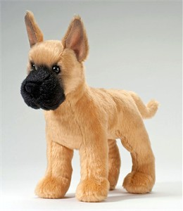 Great Dane Stuffed Plush Animal