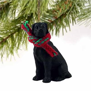 Great Dane Tiny One Christmas Ornament Black Uncropped