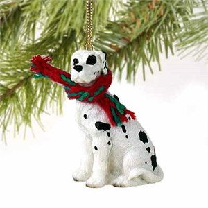 Great Dane Tiny One Christmas Ornament Harlequin Uncropped