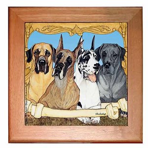 Great Dane Trivet