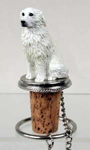 Great Pyrenees Bottle Stopper