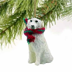 Great Pyrenees Tiny One Christmas Ornament