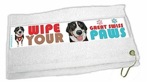 Greater Swiss Mountain Dog Paw Wipe Towel