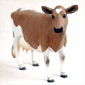 Guernsey Cow Figurine