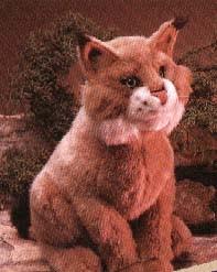 Bobcat Puppet